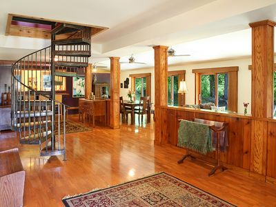 Photo for The Barn: Elegant Cabin on the SI Wine Trail! The Largest Cabin, too!