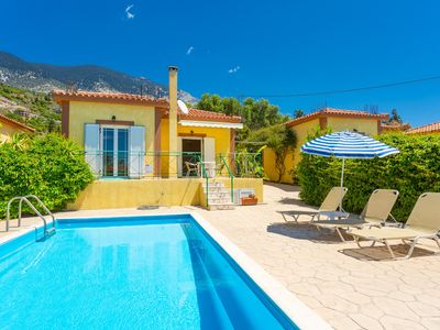 Photo for Villa Russa Anna: Large Private Pool, Walk to Beach, Sea Views, WiFi, Car Not Required