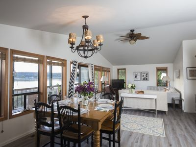 Photo for 2 days scheduled between rentals----South Whidbey with water view and hiking