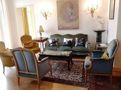Photo for Three bedroom apartment on the port in Cannes. Short walk to the Palais