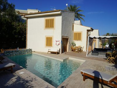 Photo for 2 mins from the sea : Villa with pool, ideal for large families/groups on hols