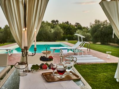 Photo for Villa Niccolai: Charming Tuscan Villa with Luxury Private Pool & Shading Park