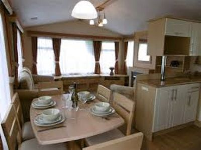 Photo for Luxury 2 bedroom static caravan in the stunning South-West of England