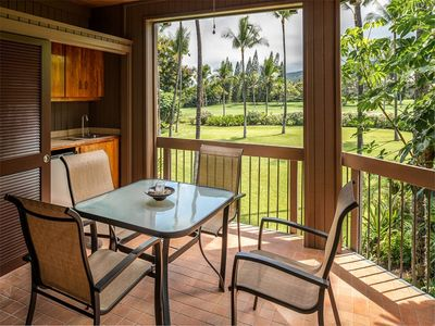 Photo for Golfer's Pick w/Lanai, Kitchen, Laundry, AC, WiFi, Flat Screen, DVD–Kanaloa at Kona 804