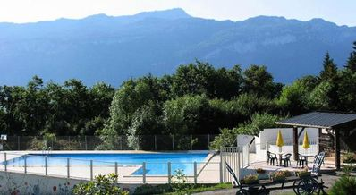 Photo for Camping Le Balcon de Chartreuse *** - Chalet Gentiane 4 People