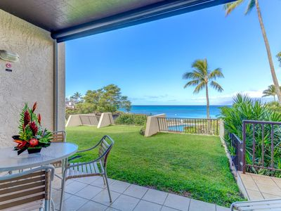 Photo for K B M Hawaii: Ocean Views, Water Front 1 Bedroom, FREE car! Aug, Sep, Oct, Nov Specials From only $149!