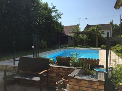 Photo for 4 Bedroomed House with pool nr Disneyland Paris