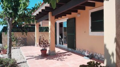 Photo for Nice independent villa with common pool, close the beaches, quite, free wifi