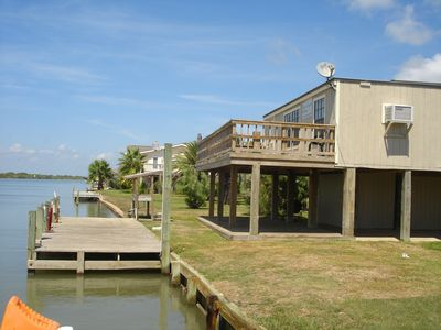 Photo for 2BR Cabin Vacation Rental in Matagorda, Texas