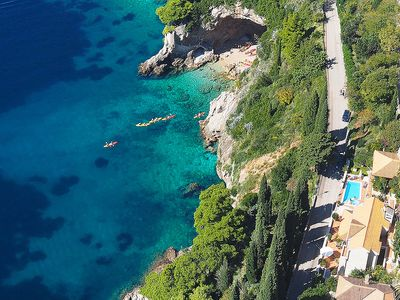 Photo for This 6-bedroom villa for up to 12 guests is located in Dubrovnik and has a private swimming pool, ai