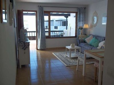 Photo for Apartment 379 m from the center of Costa Teguise with Internet, Pool, Garden, Balcony (970390)