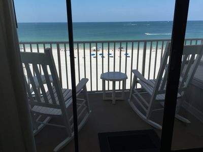 Relax on the balcony,  watch the dolphins (not guaranteed! Relax, relax, relax!