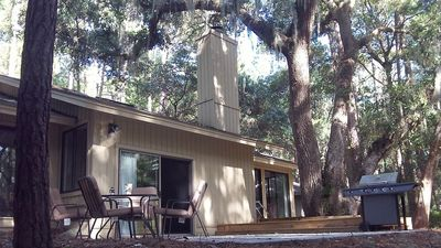 Photo for WOW! WHAT A DEAL for a HOUSE in SeaPines! Great Locations 2 BR -Pets ok, 2 bikes