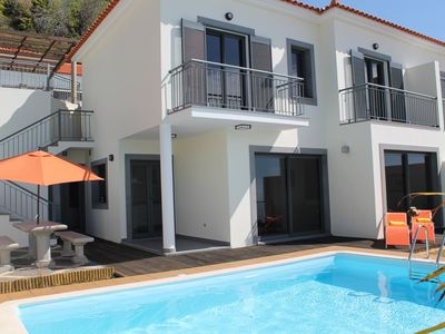 Photo for South facing with stunning views and private swimming pool | Casa Amaro Mar