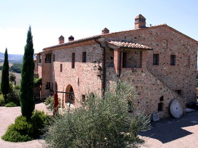 Photo for FARMH.PODERE CUNINA 25 KM SOUTH  SIENA IN FRONT  MONTALCINO TAKING COOKING CLASS