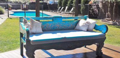 Mermaid Beach Getaway - Relax on the Day bed with a Glass of Wine