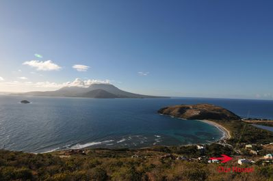 Turtle Beach Cove. Southern-most point on St.Kitts