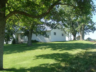 Photo for 3 Bedroom Farm House Near Ark Encounter on 92 acres with a barn, woods and creek
