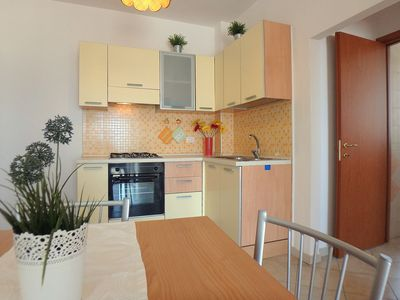 Photo for Beautiful sea view, lovely two-room apartment air conditioned at the Lido di Pomposa