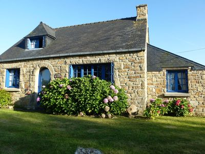 Photo for Beautiful stone house in Portsall, Brittany