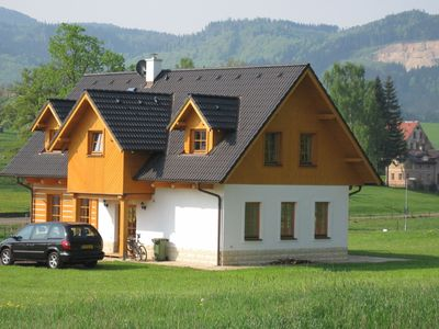 Photo for Comfortable holiday home in Bozanov with its own sauna and panoramic view