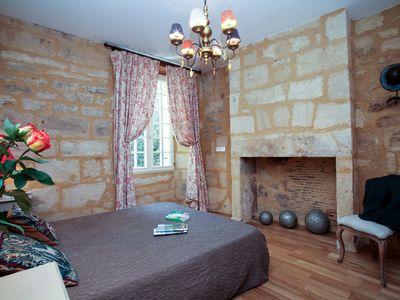 Photo for Le Logis : medieval town, 2 people apartement typical atmosphere