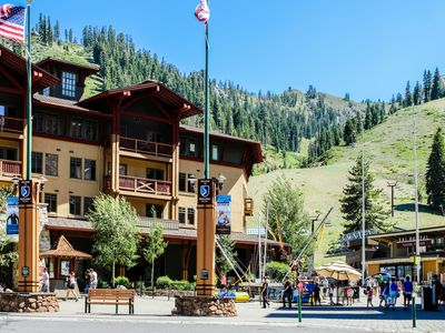 Photo for Ski-in/out condo w/ great amenities including year-round outdoor pool & hot tub
