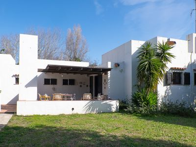 Photo for Villa Ulivo 80 meters from the beach of Geremeas