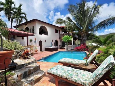 Photo for Villa Dos Palmas, Coral Bay, St John