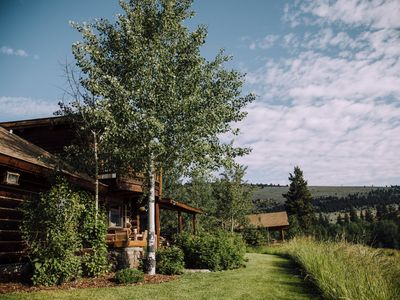 Photo for Large home with guest lodge overlooking Madison River Valley near Ennis, MT