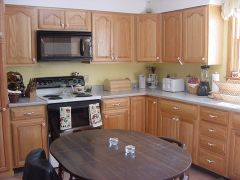 Kitchen - has everything you need; including a laundry room attached.