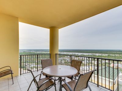 Photo for NEW LISTING! Spacious condo w/ shared pool, hot tub, tennis courts, sauna & more