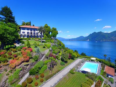 Photo for Gracious villa with pool and panoramic views over the lake! - 9 BEDROOMS