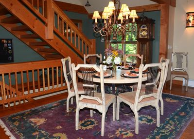 Dining for 8 plus Island Seating