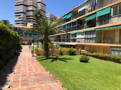 Photo for Front Beach Torremolinos apartment in Torremolinos with WiFi, air conditioning & shared terrace.