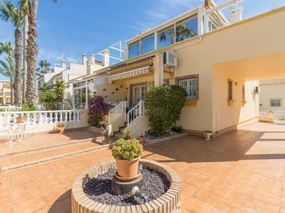 Photo for 52. 3 bed 2 Bath Apartment At Montillas II, Playa Flamenca overlooking the Pool