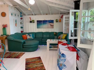 Photo for Crystal Clear Maiden Lake Beach Front Cabin