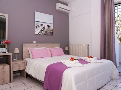 Photo for Sunset Studio with Terrace ΙΙ 50meters from the beach-Newly refurbished studio