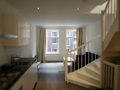 Photo for Lively Bright & Spacious Penthouse near Leidse Plein, busiest Amsterdam square
