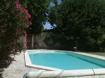 Photo for Mas, private pool, enclosed garden, sports, varied activities, nice amenities