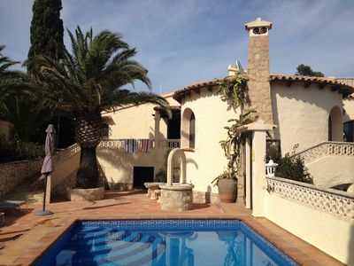 Photo for Comfortable villa Balcon al mar for sole occupancy with fantastic sea views