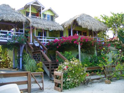 Photo for GORGEOUS, Oceanfront in Maya Beach w/dock,wifi,SUPs,kayaks,bikes: ON THE SAND