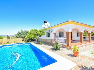 Photo for Cubo's Finca The Orange Tree. Garden and pool, satellite, wifi and AC
