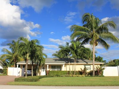 Photo for Private Pool Home With Tropical Oasis Less Than 1 Mile from Beach