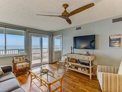 Photo for OCEANFRONT -RIGHT ON THE BEACH AND STEPS TO THE ATLANTIC OCEAN!