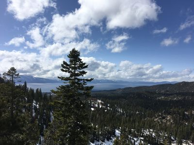 Photo for South Lake Tahoe and ski out Heavenly Condo! Amazing Lake Views! Sleeps 8. *NEW*