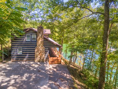 Photo for Private Lakefront Cabin within 4 Miles of I-75 and close access to ATV trails