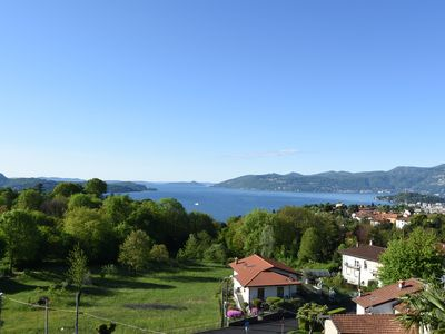Photo for Exclusive, high quality apartment with stunning views over Lake Maggiore