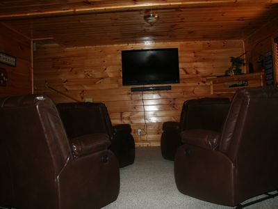 Photo for Awesome Media Room With Surround Sound/Free Wifi