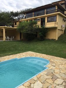 Photo for House 150 mt Ferradura beach, 6 rooms, swimming pool and barbecue